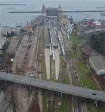 Marmaray Commuter Railway Haydarpasa Storage Area