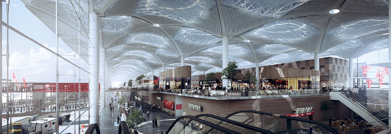 Prota Designed Istanbul New Airport Terminal