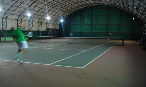 Metu Indoor Tennis Courts Prota M 252 Hendislik